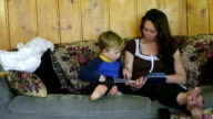 listening to mom, little boy can not sit still video
