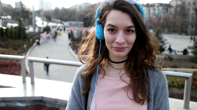 Listening to music video
