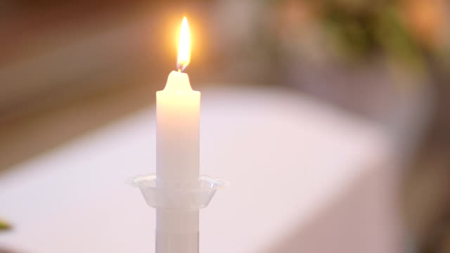 Lit Candles video