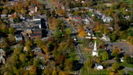 Litchfield  - Aerial View - Connecticut,  Litchfield County,  United States video