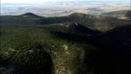 Little Belt Mountains  - Aerial View - Montana, Wheatland County, United States video