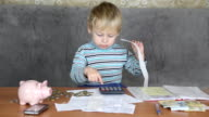 little boy Accountant video