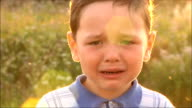 little boy crying video