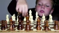 Little Boy Fascinated By The Game Of Chess video