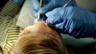 Little Boy In Dental Office video