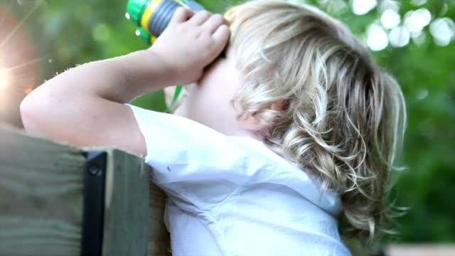 Little Boy In TreeHouse video