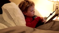 Little Boy Sick In Bed video