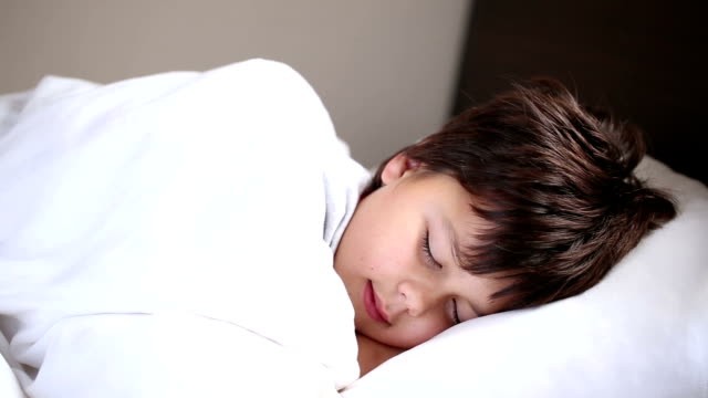 little boy sleeping video