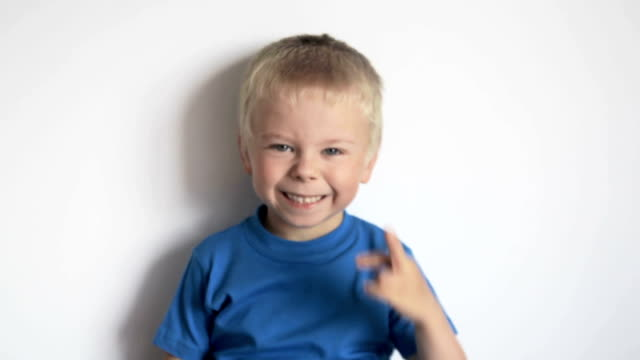 Little boy wants to be an actor video