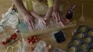 Little Girl Baking video