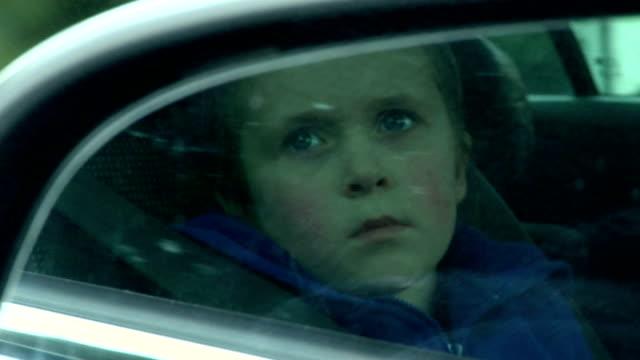 Little girl bored in car video