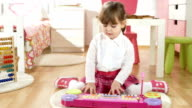 HD DOLLY: Little Girl Creating Music video