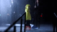 Little Girl Dancing In The Rain video