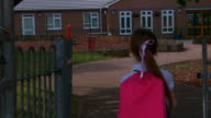 DOLLY: Little girl goes to school video