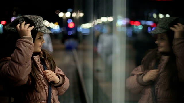 little girl in main street video