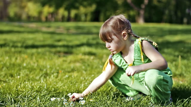 Little Girl In Nature video