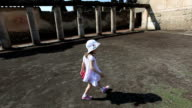 Little Girl in Pompeii video