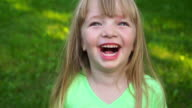 Little girl laughs video