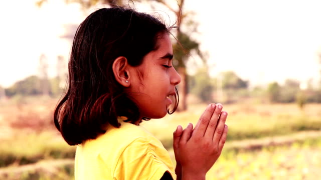 Little Girl Praying video