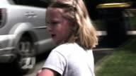 Little Girl Ridding Bike. video