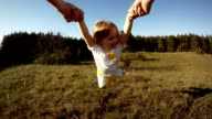 little girl spinning video