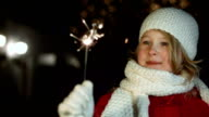 Little Girl With A Sparkler video