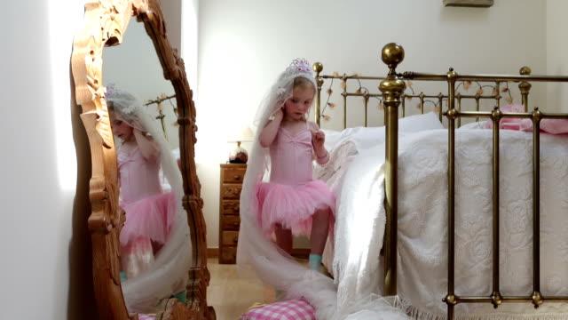 Little Girls Dressing Up video