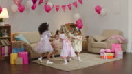 Little Princesses at Party video