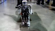 Little robot walking video