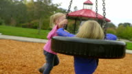 Little sister spins big sister video