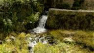 Little waterfall in Cevennes France video