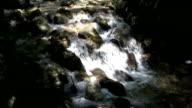 HD: little waterfall video