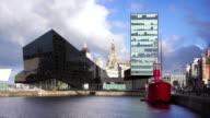 Liverpool Waterfront's Albert Dock, England, UK video