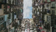 Living apartment building in Hong kong video