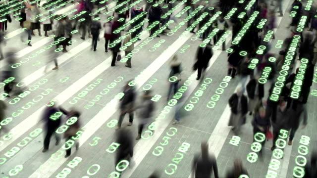 Living in a data matrix city. video