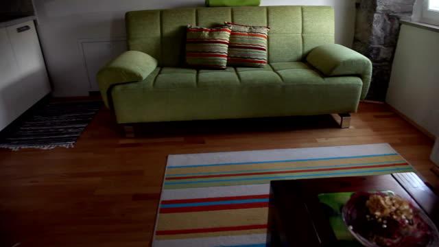HD CLIP: Living room video