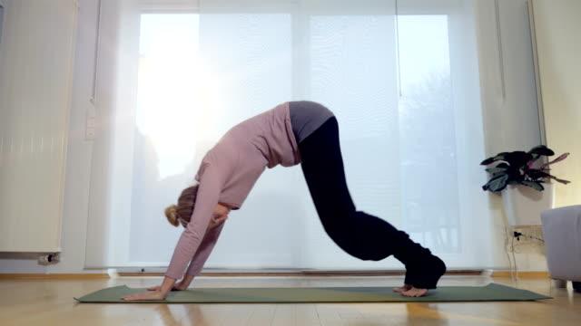 Living Room Yoga: Downward Facing Dog video
