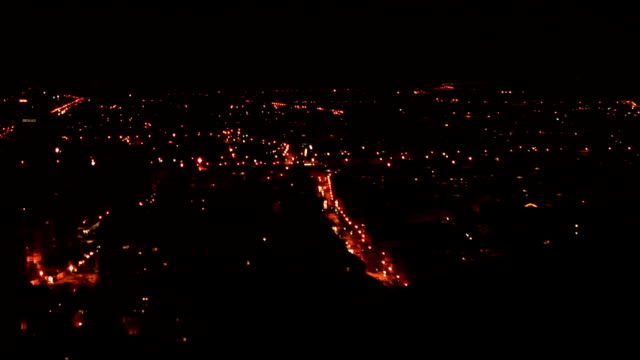 HD: Ljubljana in christmas lights video
