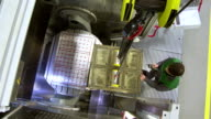 CS Loading A Mould Into The Machine video