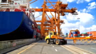 Loading Cargo Containers video