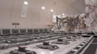 Loading cargo inside cargo aircraft video