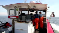 Lobstermen Talk About Fishing on Their Way To Sea, Maine video
