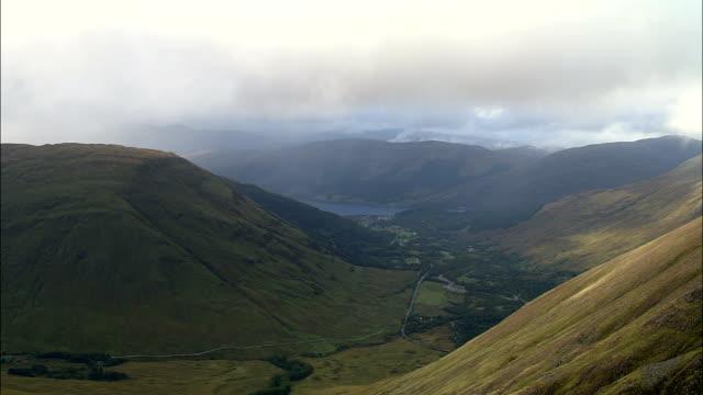 Loch Leven And Loch Linnhe  - Aerial View - Scotland, Highland, United Kingdom video