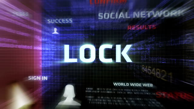 Lock Button (Dark) video