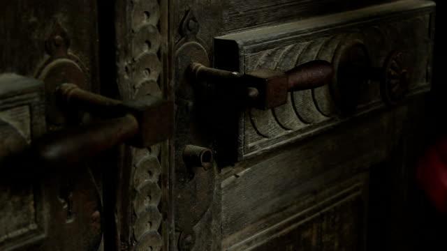 Locked Rusty Door video
