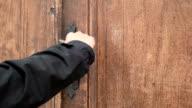 Locked Wooden Old Door video