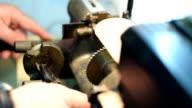 Locksmith car key cutting video