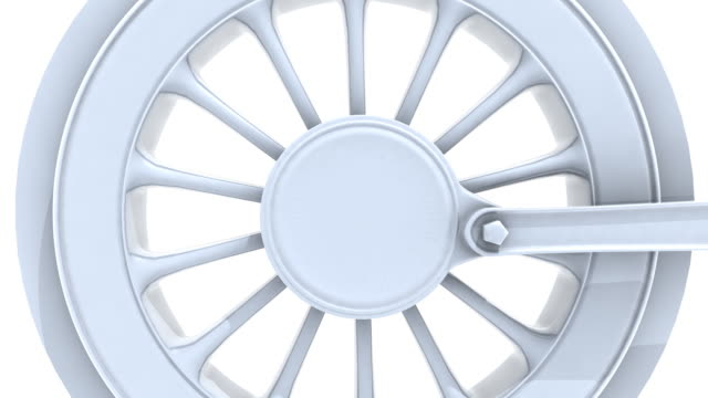 Locomotive Wheel (HD) Loopable video