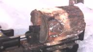 Log Splitter Hydraulic video