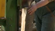 HD SLOW-MOTION: Logging video